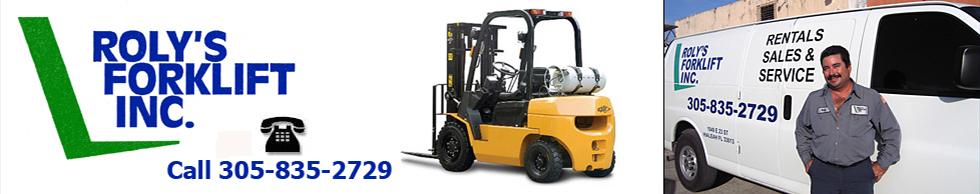 Forklift Rental Miami FL – Roly's Forklift Inc.